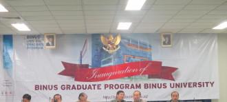 Binus University Kukuhkan Doktor ke-4
