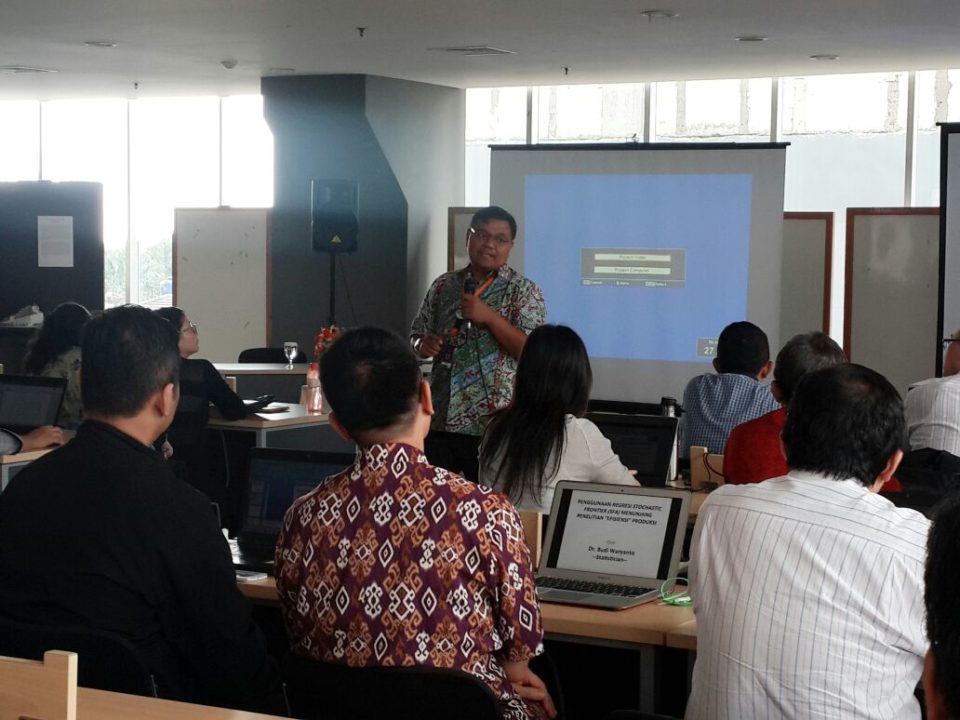 "BINUS Doctor of Research in Management (DRM) Program Adakan Workshop ""Advance Statistic Class"""