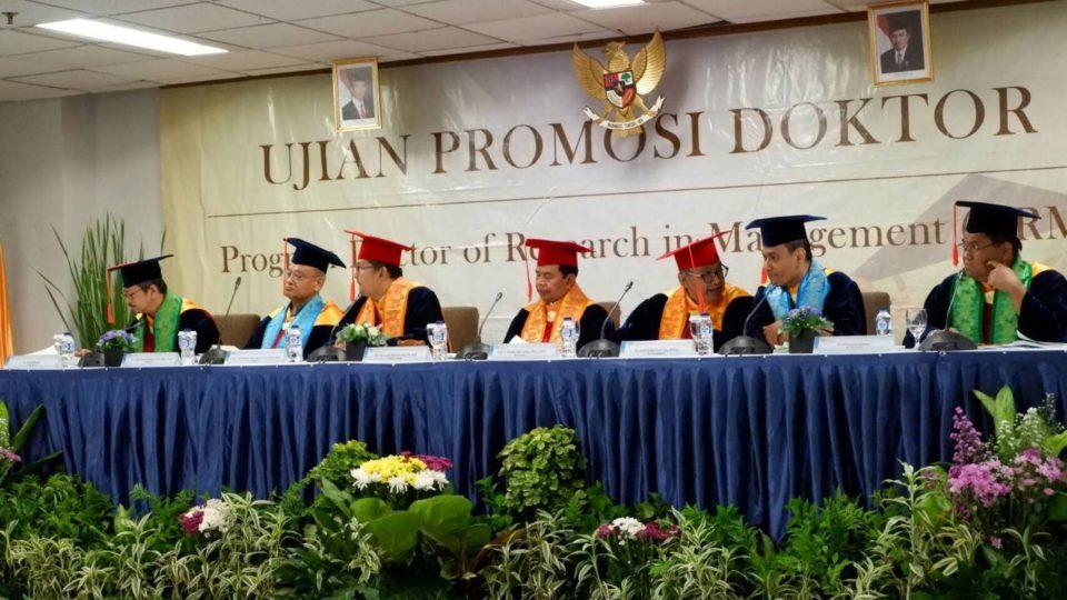 Pendidikan Binus University Telah Hasilkan 43 Doktor Manajemen