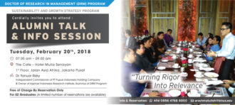 ALUMNI TALK AND INFO SESSION