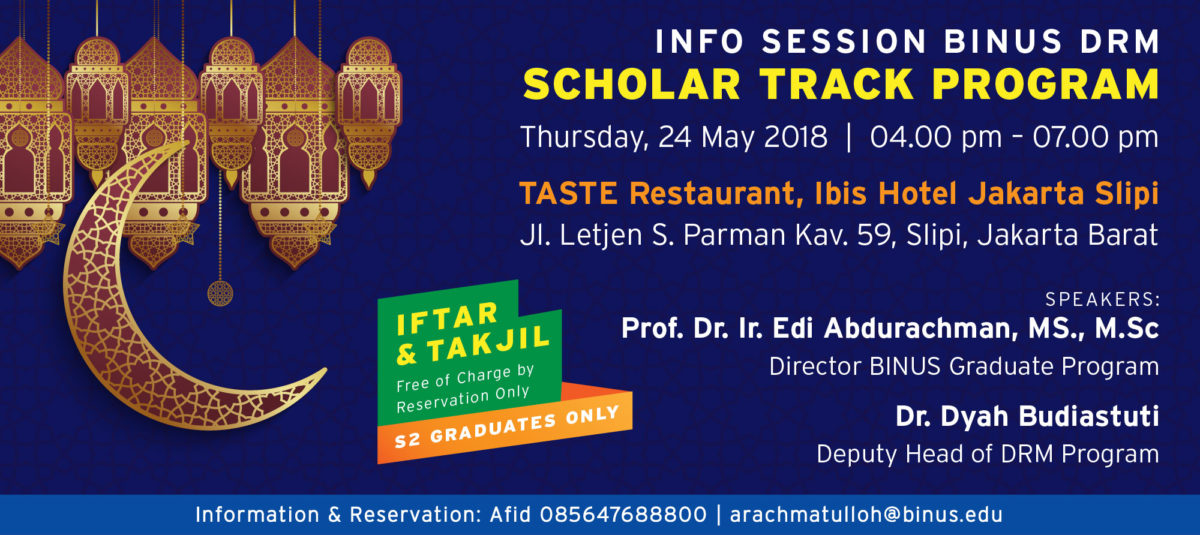 Info Session Doctor of Research in Management