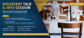 Breakfast Talk & Info Session – BINUS Doctorate Program