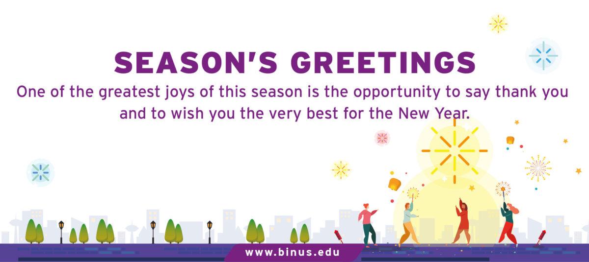 Season Greetings 2019